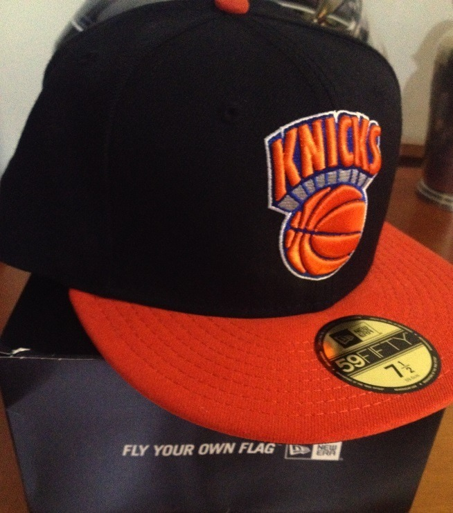 Boné New Era - Nba New York Knicks - Novo ! - R  120 3f4a030a810