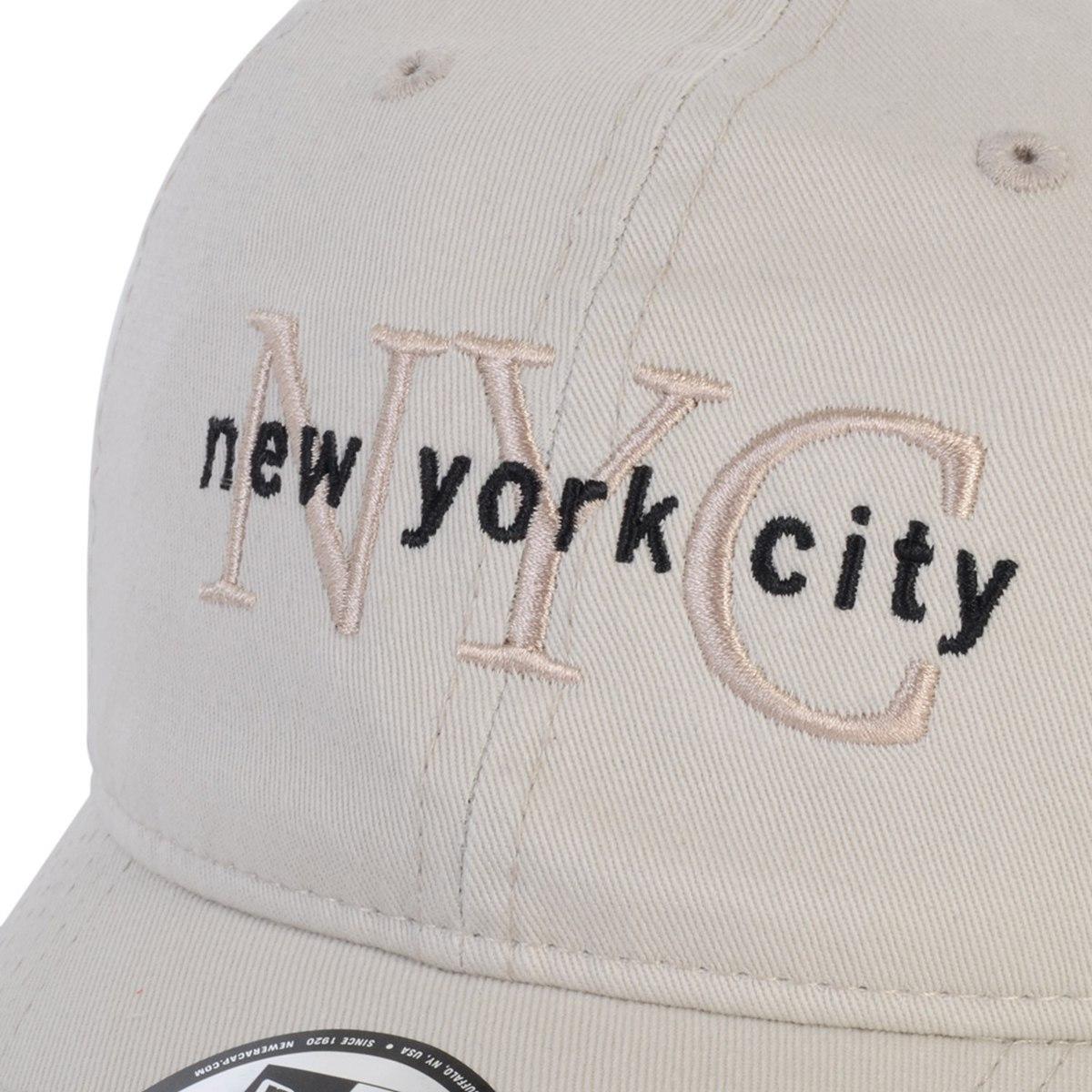 7b9057ec3 boné new era new york city bege. Carregando zoom.
