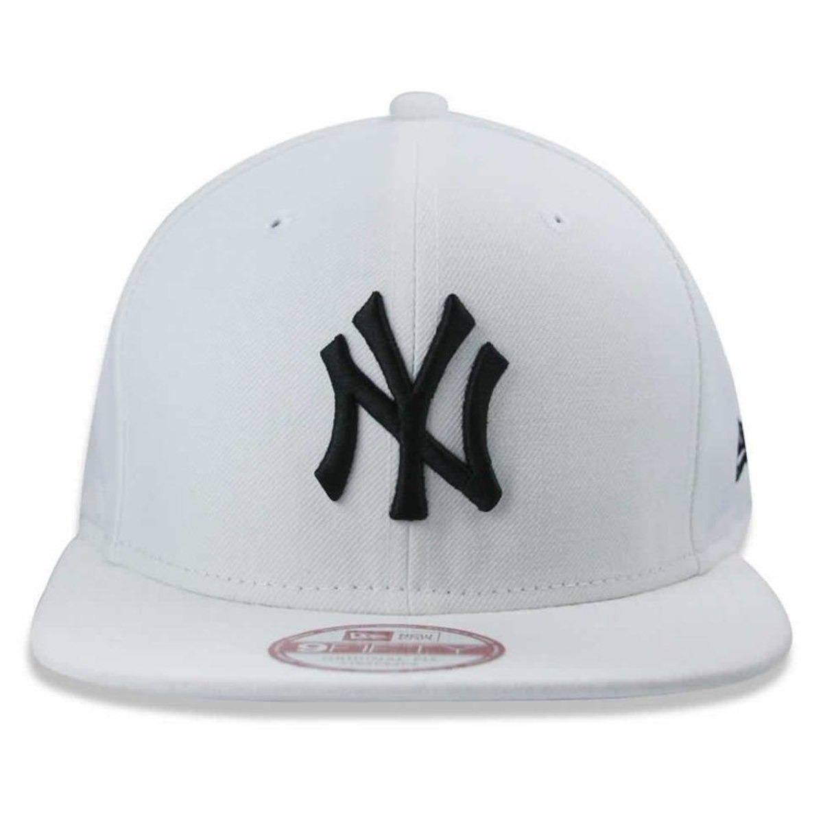 ecc63b0120f36 Bone New Era New York Yankees Branco - R  169