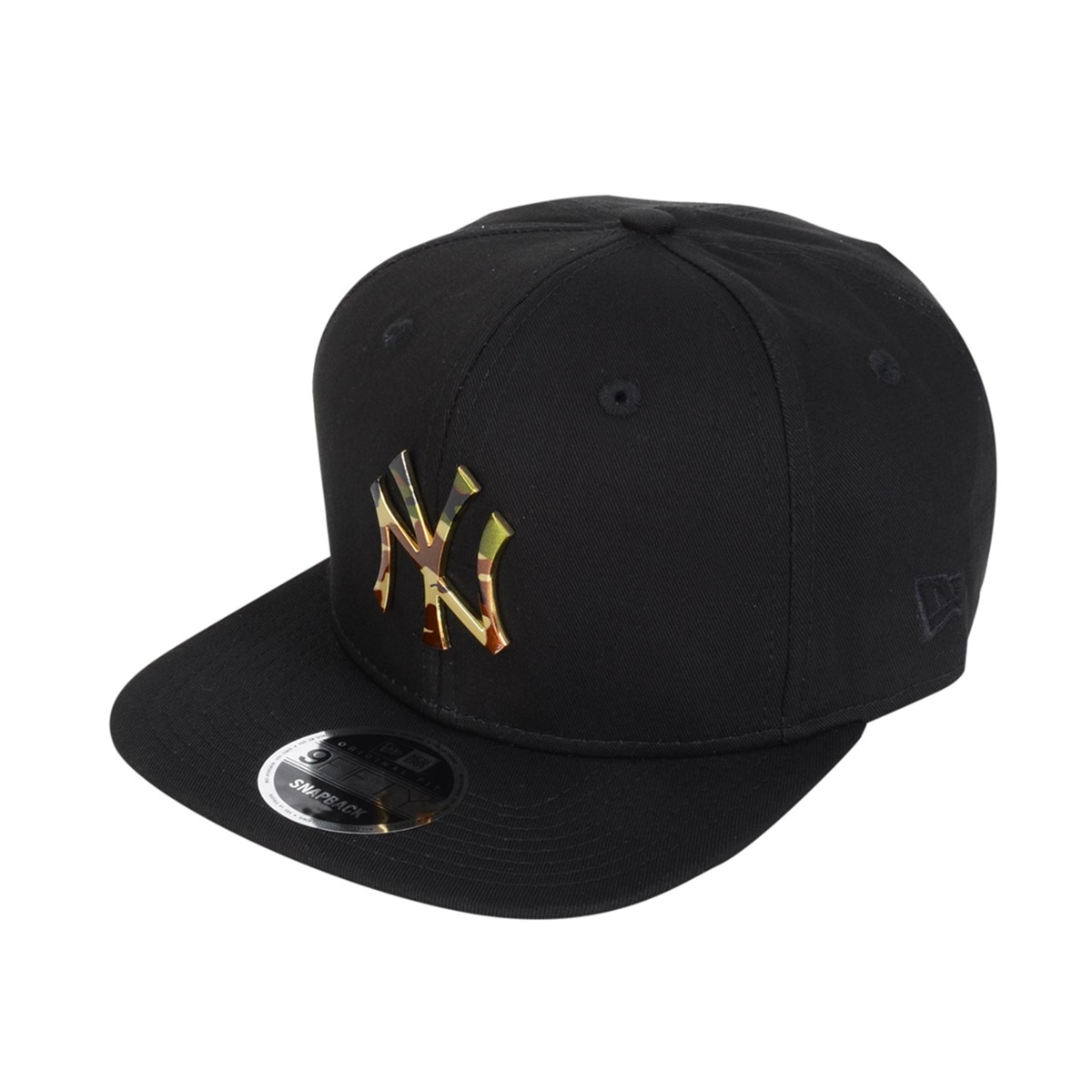 739a35eaa boné new era new york yankees camuflado metal preto. Carregando zoom.