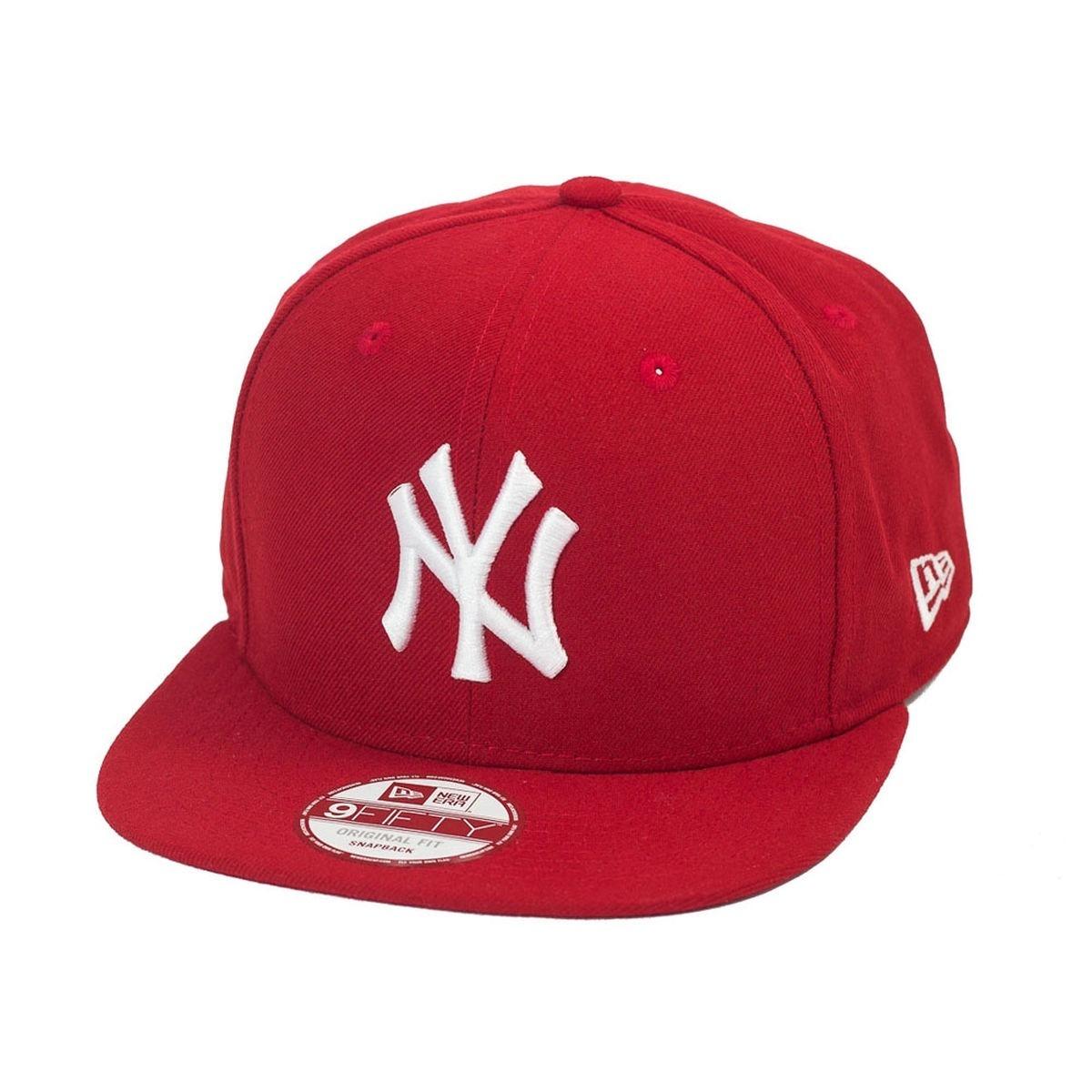 boné new era - new york yankees mlb - aba reta - vermelho. Carregando zoom. 167f04d6bf3