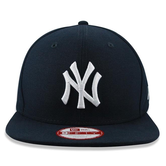 Boné New Era New York Yankees Osfa Snapback Marinho Ny-9750 - R  149 ... 703602b6b1b