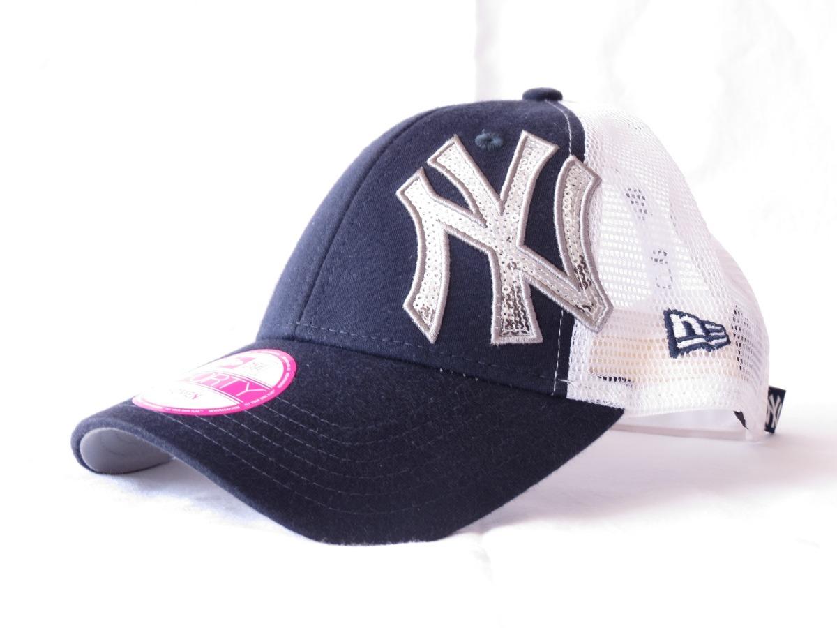 boné new era new york yankees preto branco com telinha. Carregando zoom. d90839b7197