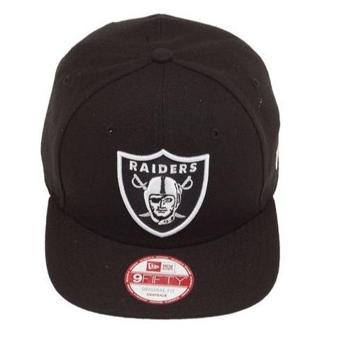 Boné New Era Nfl 950 Oakland Raiders - Aba Reta - Preto - R  159 adf9f015bac