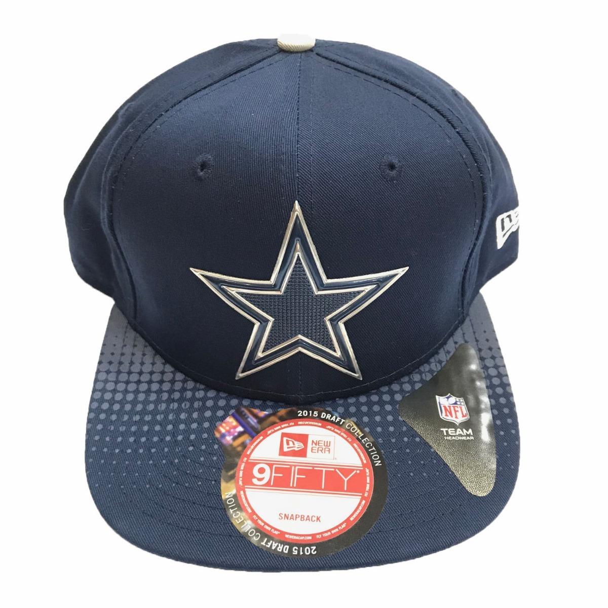 boné new era nfl dallas cowboys draft snapback. Carregando zoom. 6085c5095ef