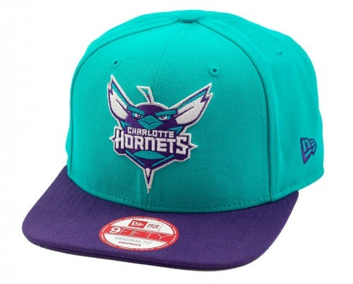 Bone New Era Original Fit Charlotte Hornets Angry Birds - R  179 d1c42ba2707