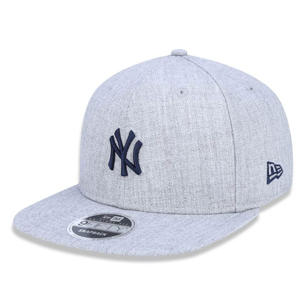121ef9fe42d28 Boné New Era Original Snapback New York Yankees Mini Logo - R$ 189 ...