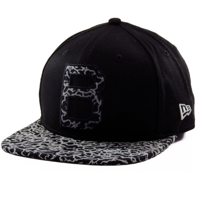 a8438b761 Boné New Era Snapback Brooklyn Dodgers Mlb 9fifty - Preto - R  169 ...