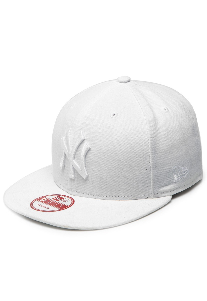 Boné New Era Snapback New York Yankees Branco - Mlb - R  169 efac65e647a