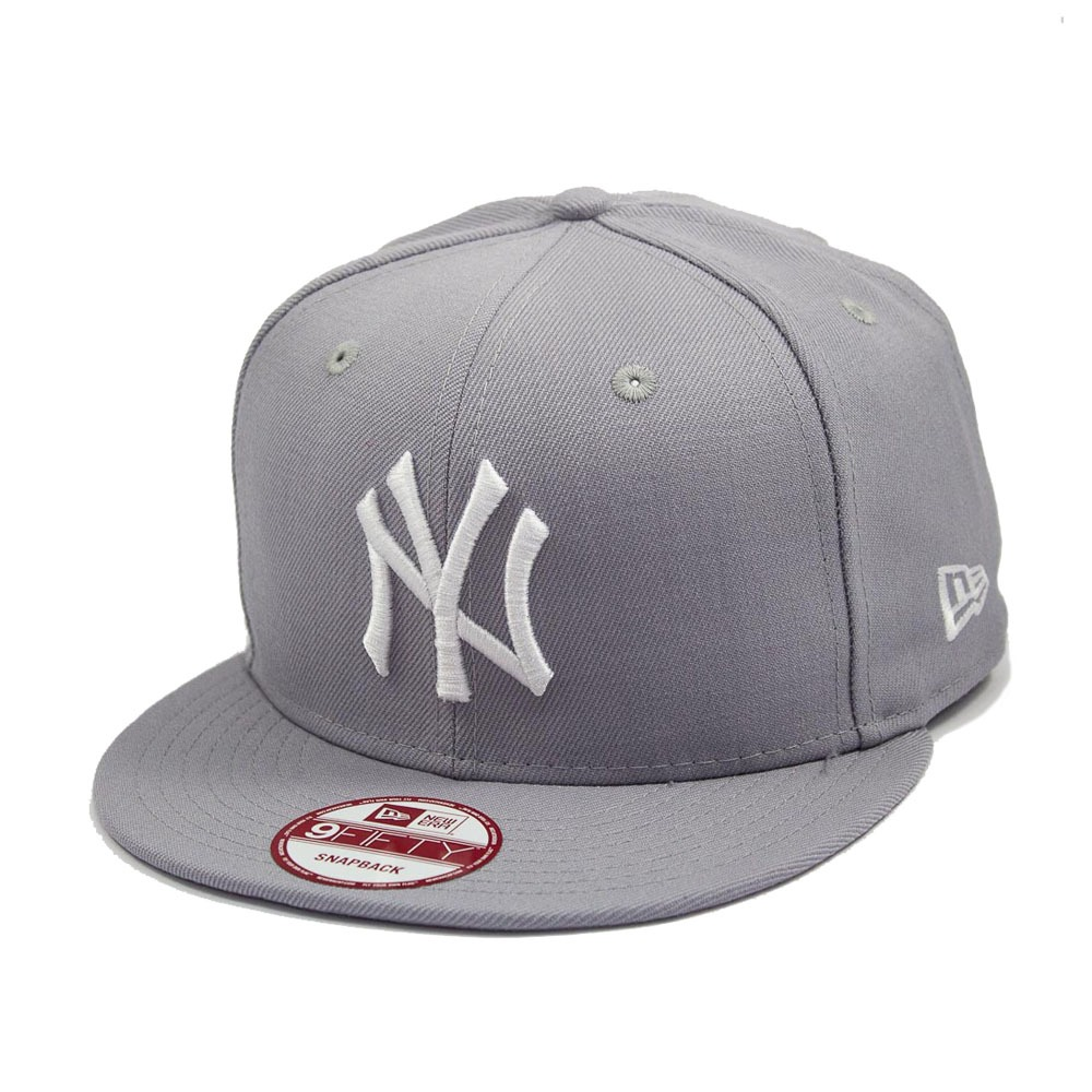 7db089ebf8 boné new era snapback new york yankees cinza - mlb. Carregando zoom.