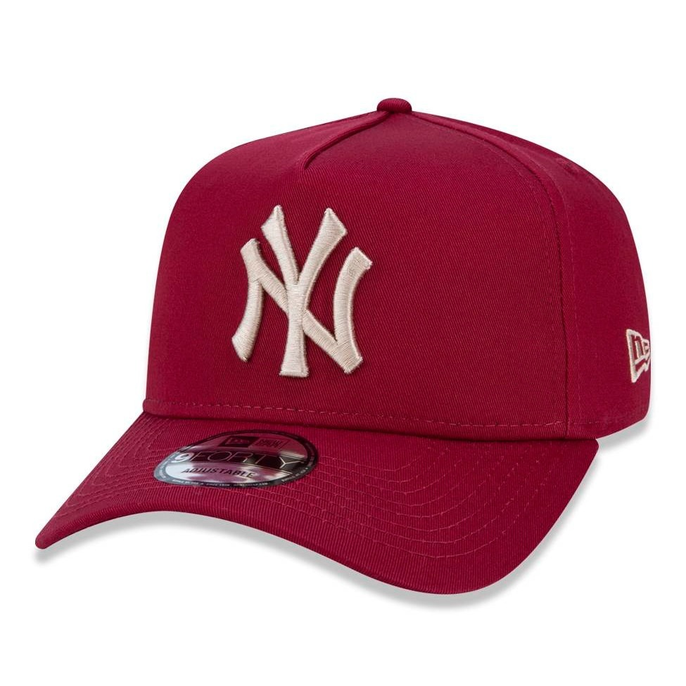 boné new era snapback new york yankees vinho aba curva. Carregando zoom. 9fdf2850a2b