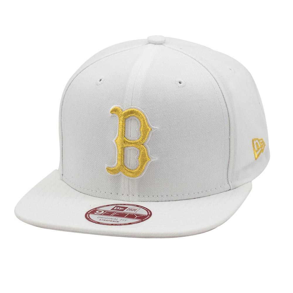 boné new era snapback original fit boston red sox branco  . Carregando zoom. 698a51d6d01