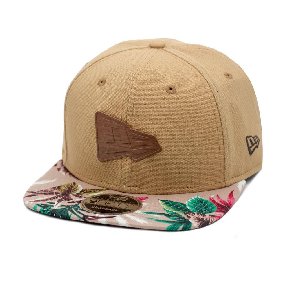 boné new era snapback original fit branded visor floral. Carregando zoom. cac6b48278b