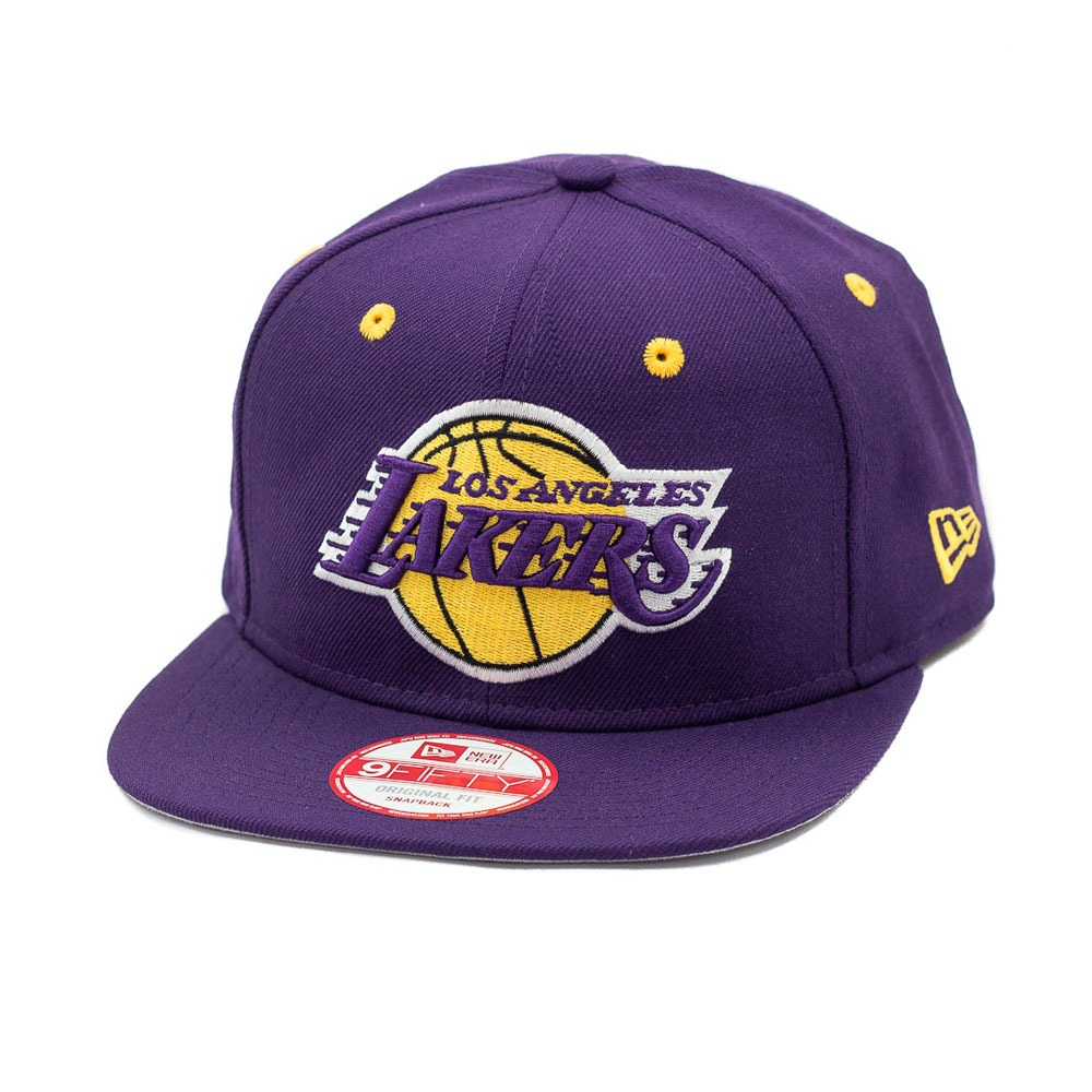 boné new era snapback original fit los angeles lakers roxo. Carregando zoom. c130e4c65f0