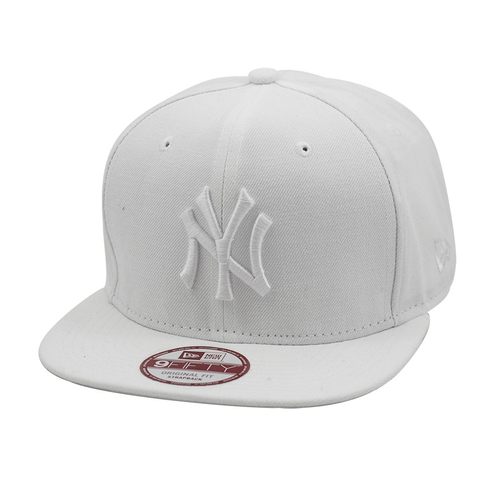 1e31aba9a2 boné new era snapback original fit new york yankees branco. Carregando zoom.