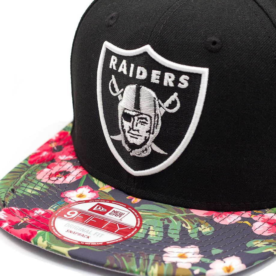 04402acc36d35 boné new era snapback original fit oakland raiders tropic t. Carregando  zoom.
