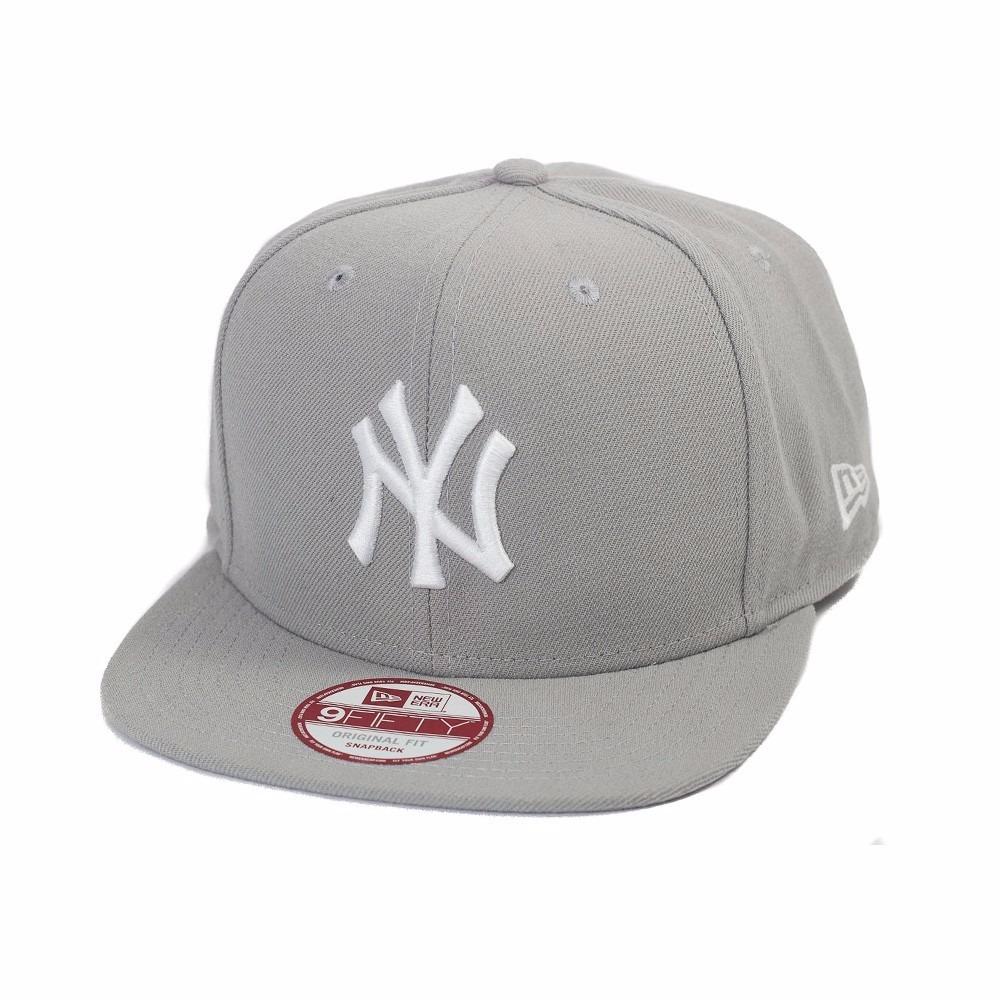 boné new era strapback original new york yankees ny cinza. Carregando zoom. 8ff659c8ae7