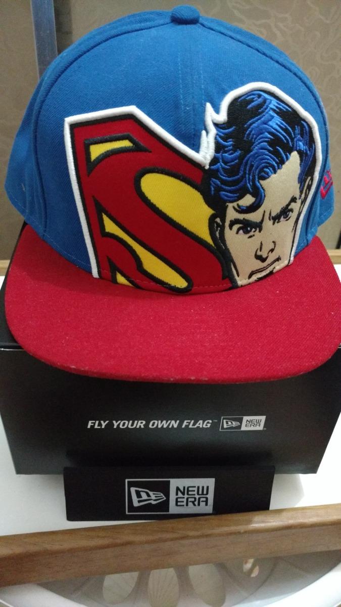 boné new era superman dc comics aba reta 59 fifty tam 7 1 2. Carregando  zoom. 2c67e2dbb82