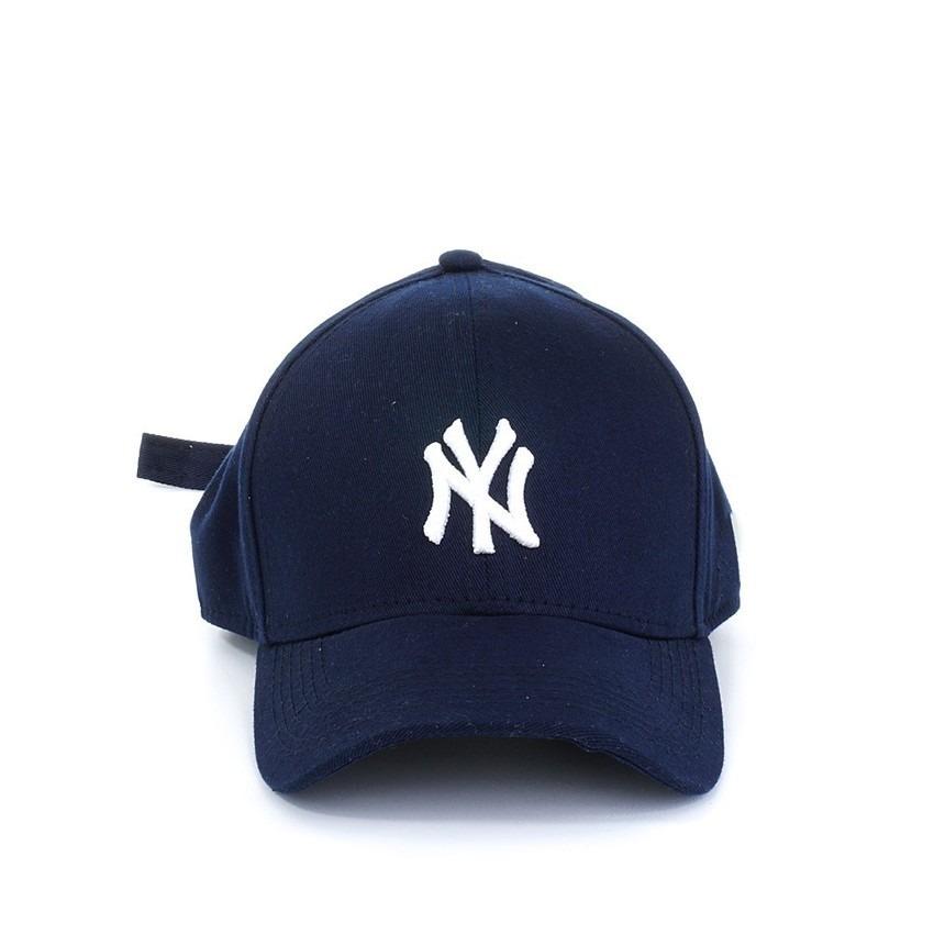 795cbbde7a356 boné new york brand pro navy ny azul escuro aba curva strap. Carregando  zoom.