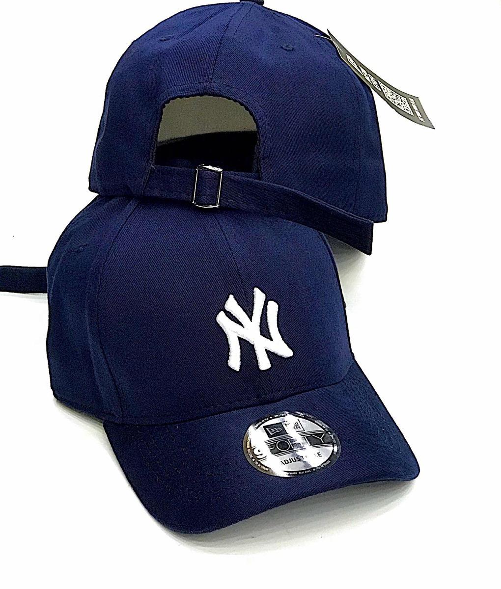 b8846558b boné new york brand pro navy ny azul escuro aba curva strap. Carregando  zoom.