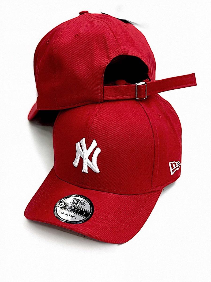 boné new york brand pro red ny vermelho aba curva strapback. Carregando  zoom. 9c9c8e59c85