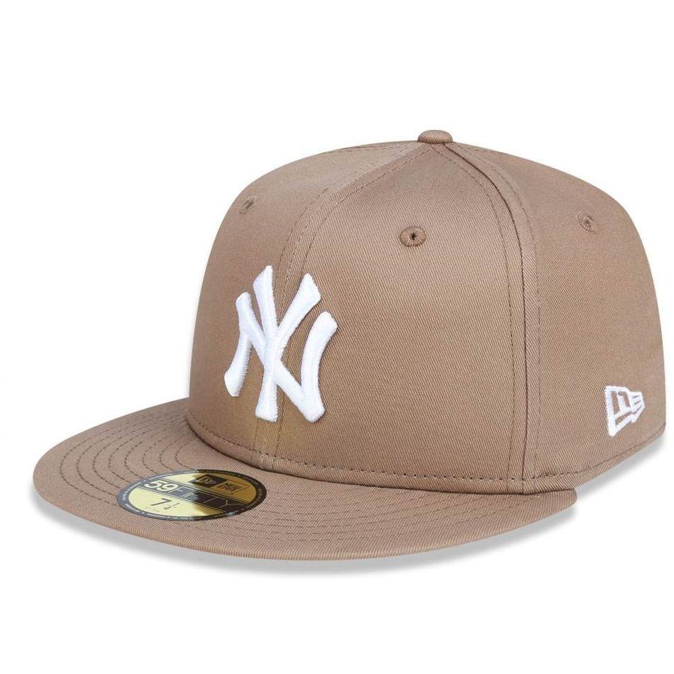 a87371c77 boné new york yankees 5950 white on brown fechado - new era. Carregando zoom .