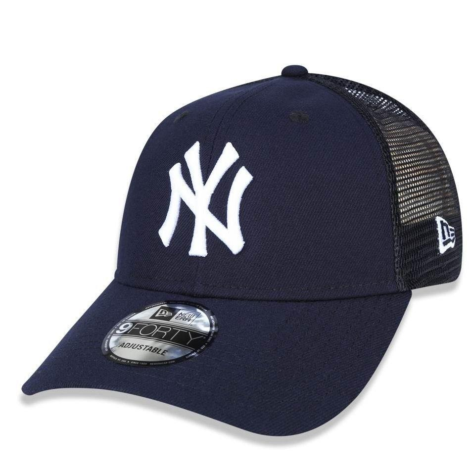 boné new york yankees 940 trucker marinho - new era. Carregando zoom. bf01976b59c