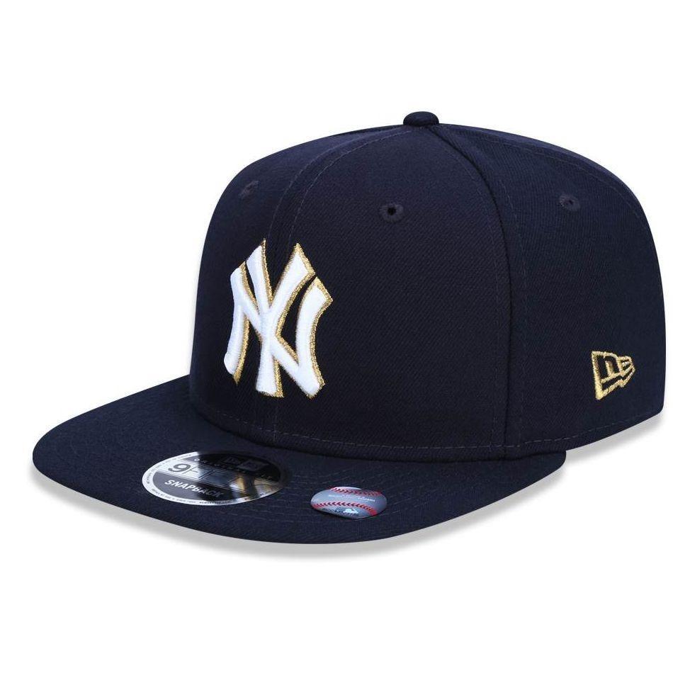 boné new york yankees 950 gold city mlb - new era. Carregando zoom. e61945b6f3a