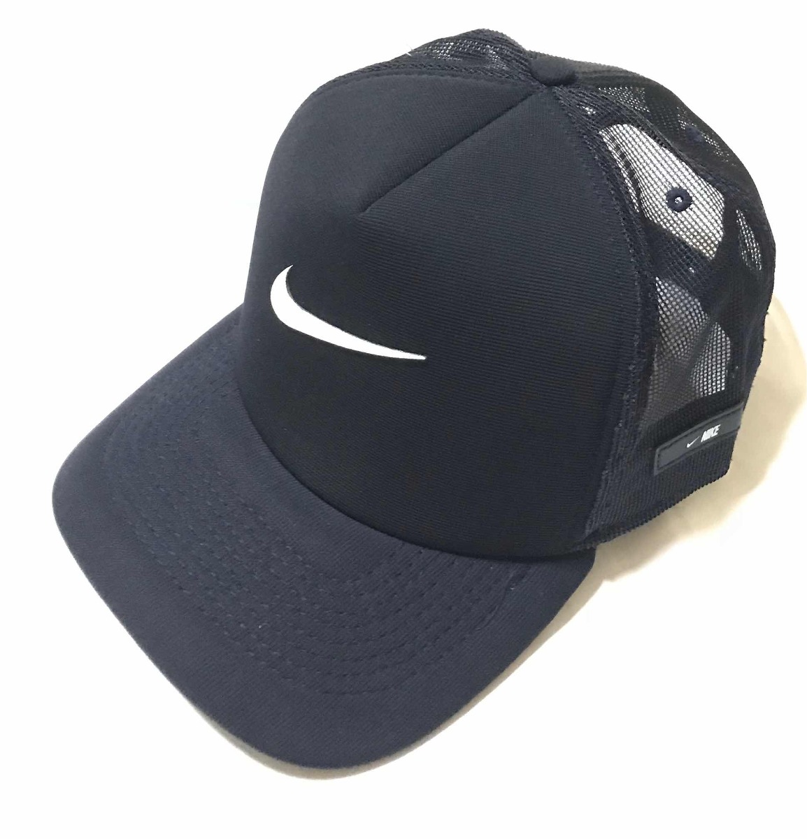 8f516a5b00a22 Boné Nike Aba Curva Air Logo Pano Fita Classic Strapback Azu - R  45 ...