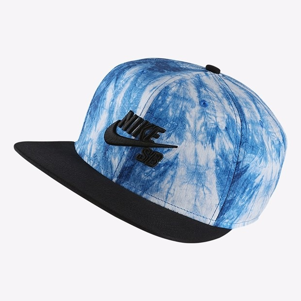 Bone Nike Aba Reta Sb Camo Tie Dye Azul Snapback Oakley - R  190 2ed7f9b3db5