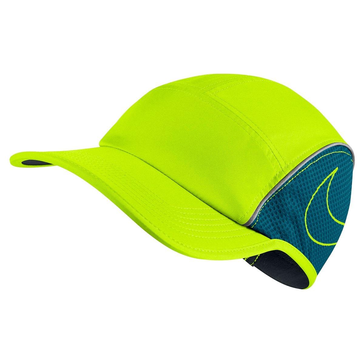 a62ac70bb7 Boné Nike Aerobill Aw84 (fluorescente)  running  triathlon - R  159 ...