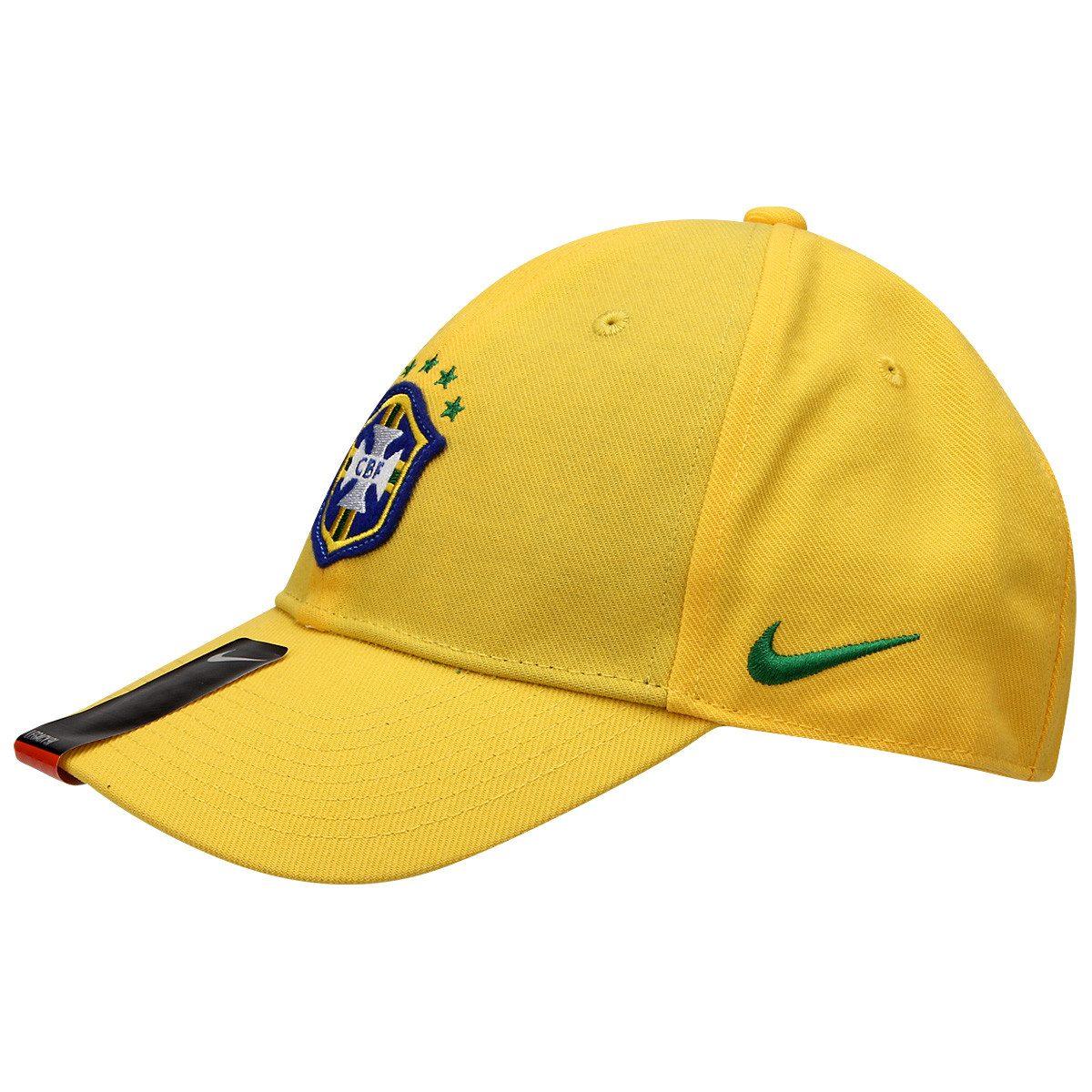 Boné Nike Brasil Cbf Tamanho P m Olimpiadas 16 De 249 P - R  128 3204364488d