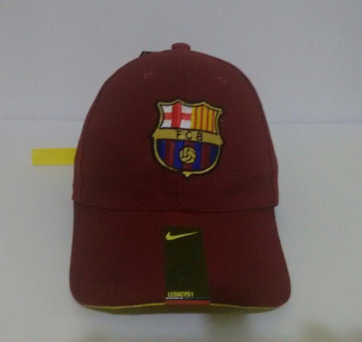 8904b2551ce99 Boné Nike Core Barcelona Vinho Fivela    Original    - R  120