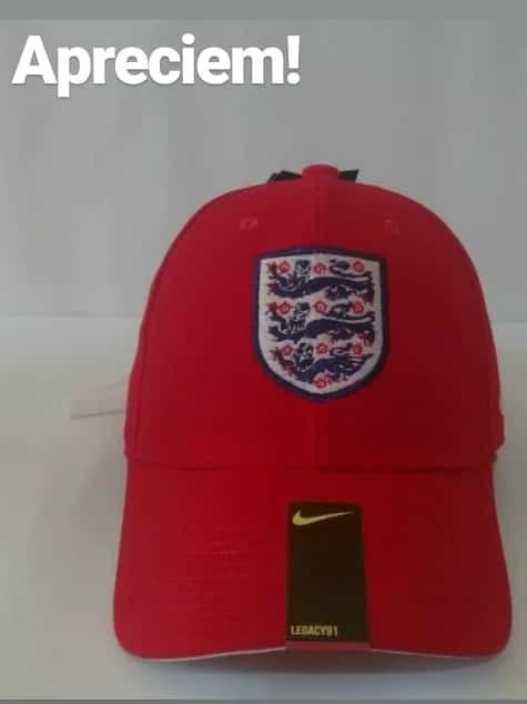 4a62ed48edc34 Boné Nike De Time Inglaterra - R  100