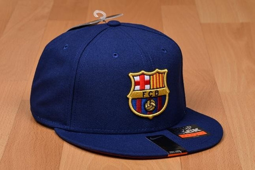 Boné Nike Fc Barcelona Core Snapback - R  99 ac6bfc432199