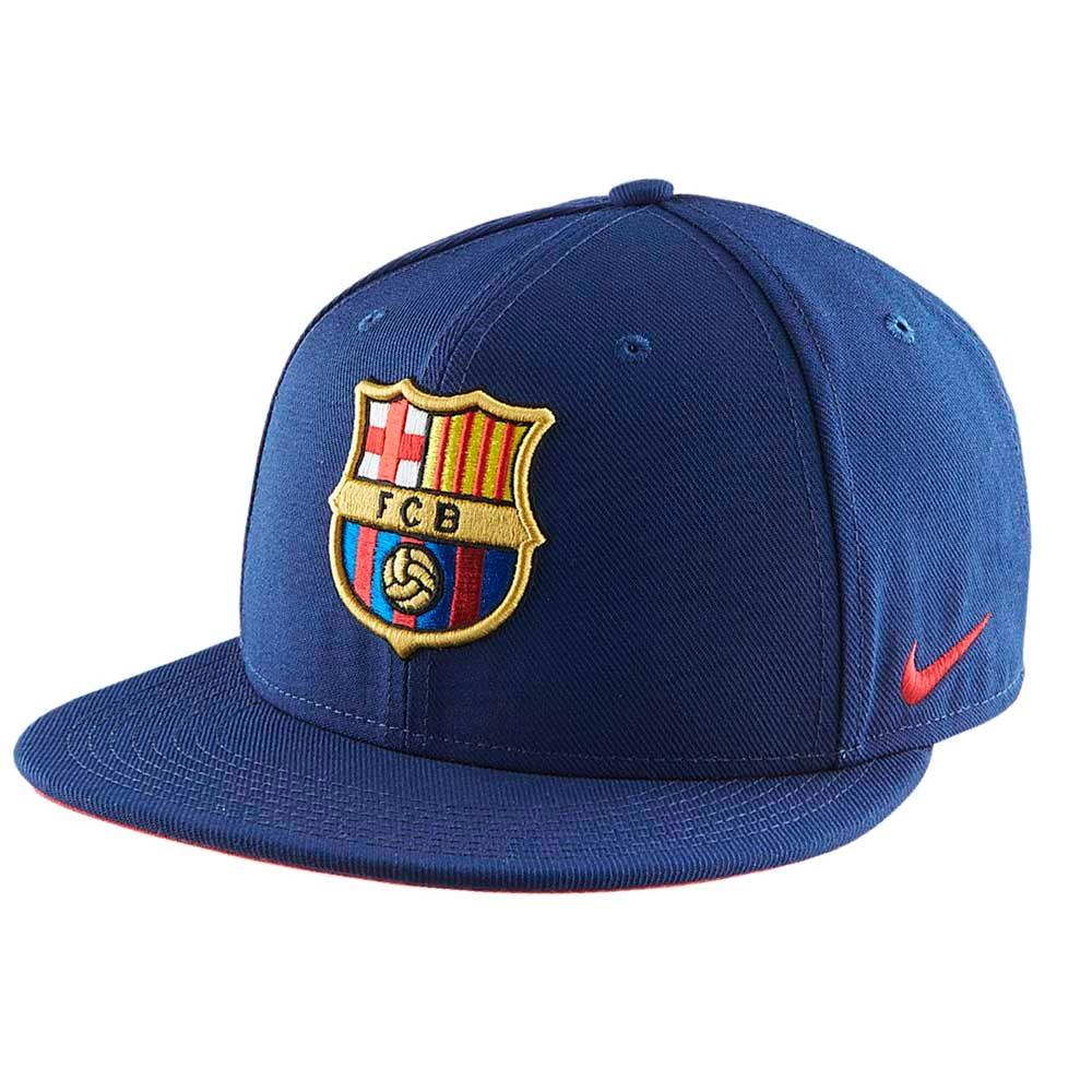 92040db0dc3be Boné Nike Infantil Fc Barcelona Azul - R  80