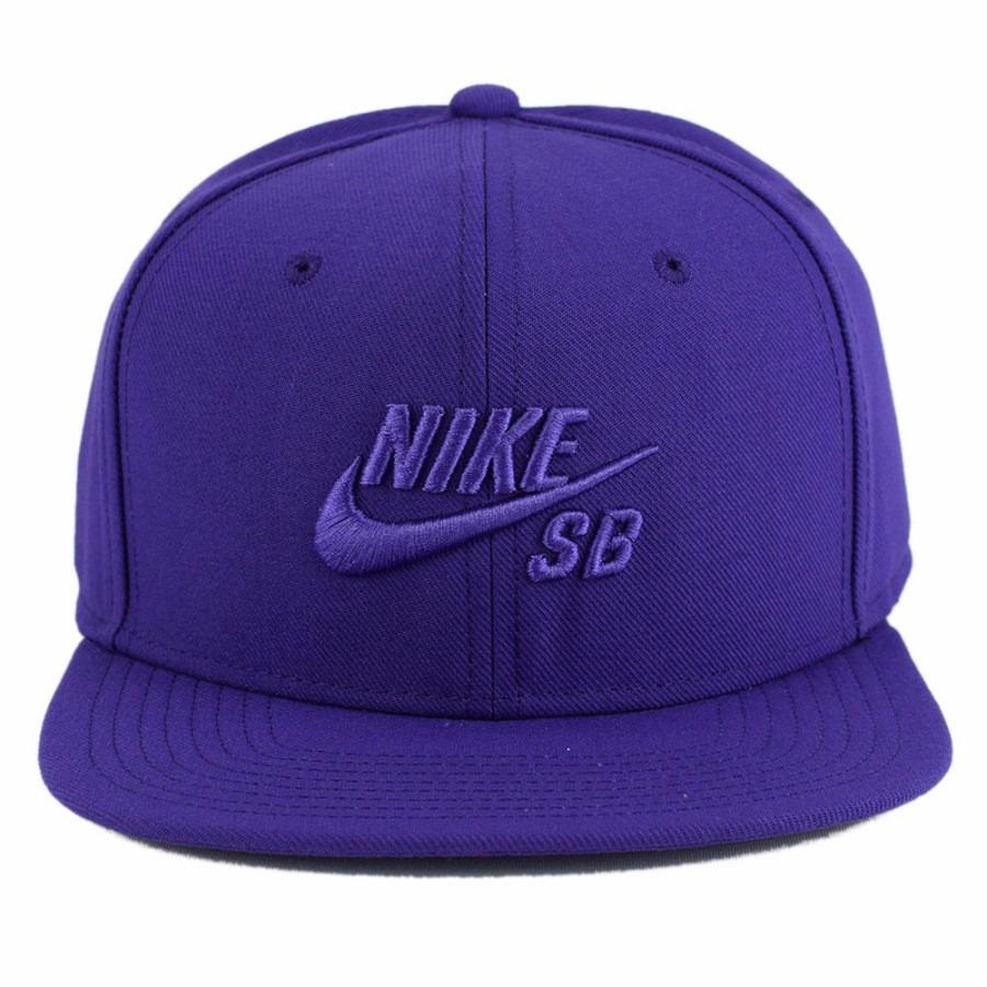 Boné Nike Sb Icon Snapback Cap By Nike Roxo - R  99 7f27e14a712
