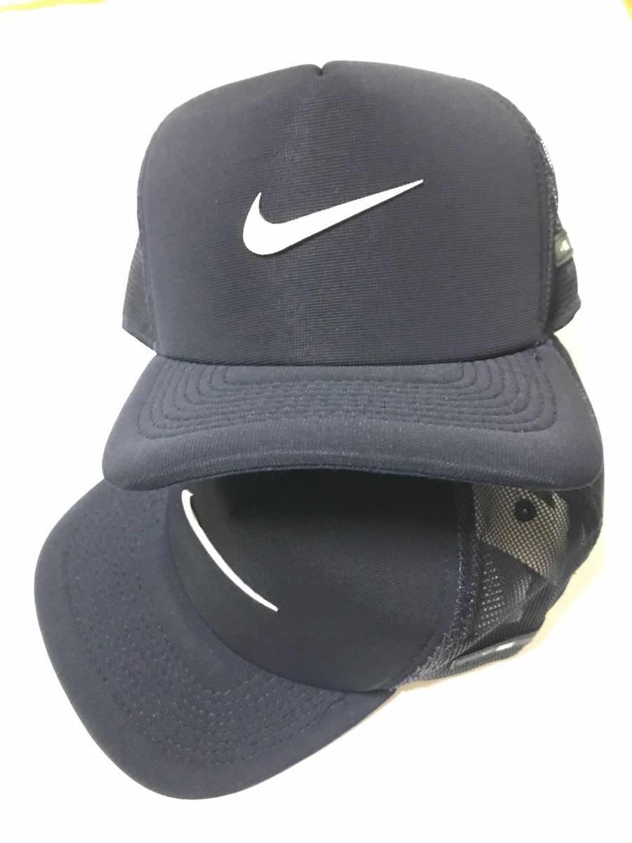 ebd5484f514ef Boné Nike Aba Curva Trucker Nike V Snapback Masculino - R  45