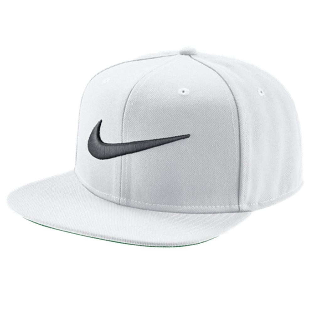 Boné Nike Qt Swoosh Pro Branco - R  111 804d25bbe65