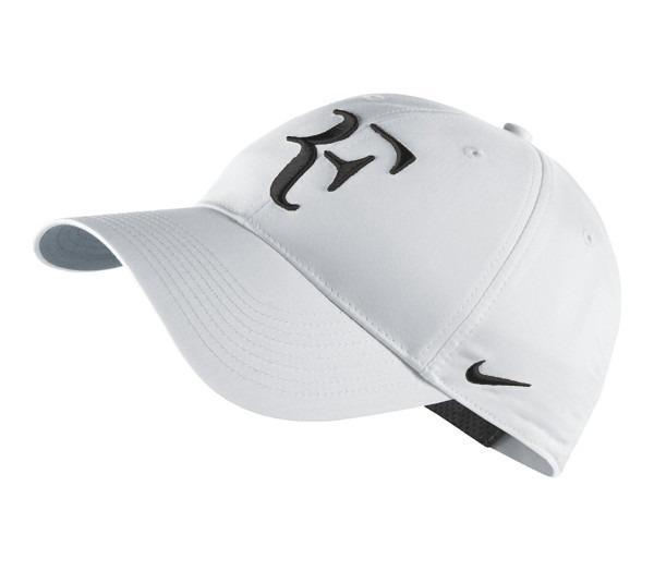 Boné Nike Roger Federer Rf Hybrid Cor  Branco - R  69 a6c61236fee