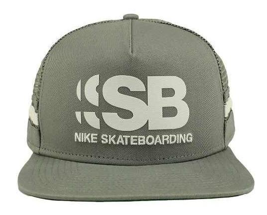 ce590418fb Boné Nike Sb Cut Trucker Original +garantia+ Nfe Tênis Preto - R ...