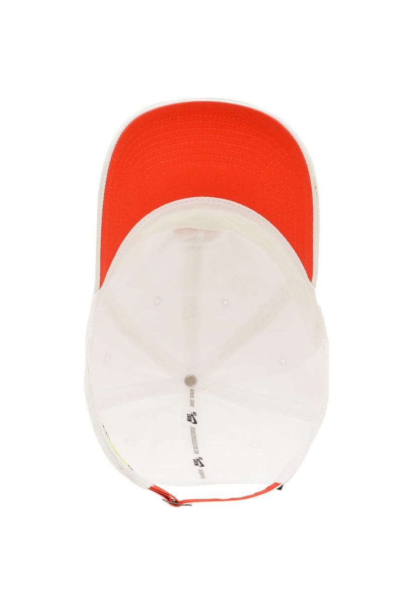 7e3e9cfc5517f Boné Nike Sb Heritage Strapback - White - R$ 129,90 em Mercado Livre