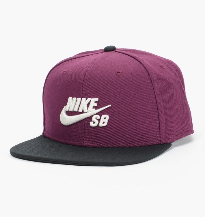 Boné Nike Sb Icon Pro 628683-563 Roxo Original - R  255 43732a65df9