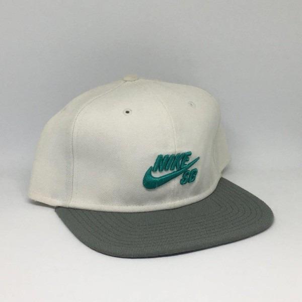Boné Nike Sb Icon Snapback Branco - R  49 e96155eb23b
