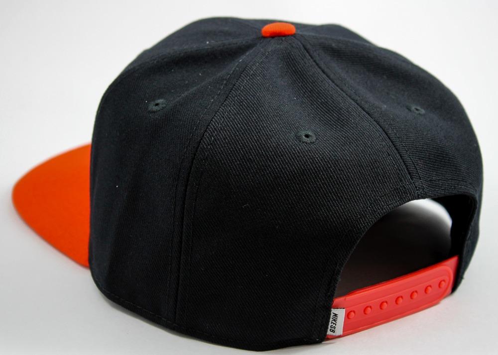 boné nike sb icon snapback preto   laranja. Carregando zoom. 0373096f24828