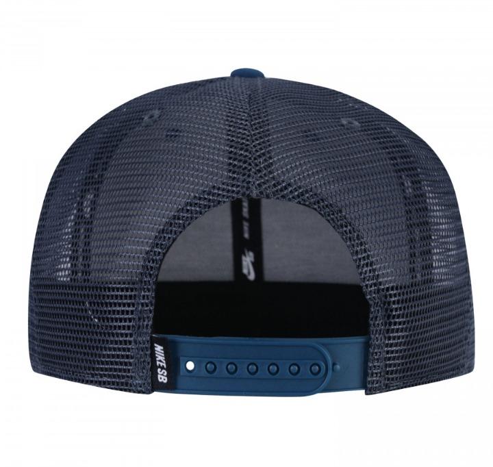 Boné Nike Sb Patch Snapback Trucker Aba Reta Adulto - R  130 f0051c4385415