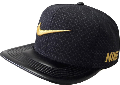 Bone Nike Sb Preto E Dourado Pronta Entrega Frete Gratis - R  79 60062d6bae2