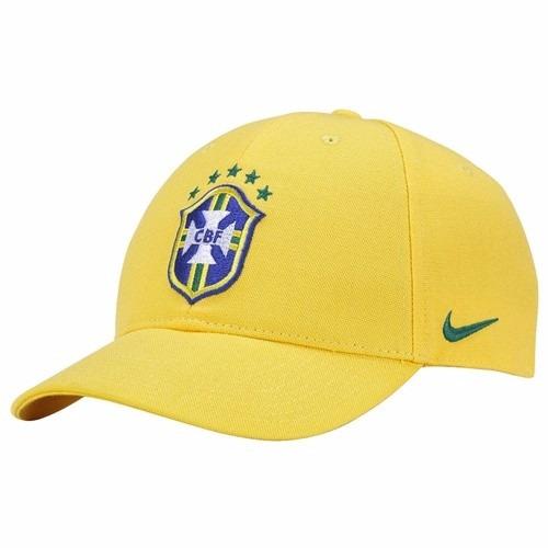 0d5b6552b9 Boné Nike Seleção Brasileira Cbf Ouro Olimpíadas Rio De 249 - R  128 ...