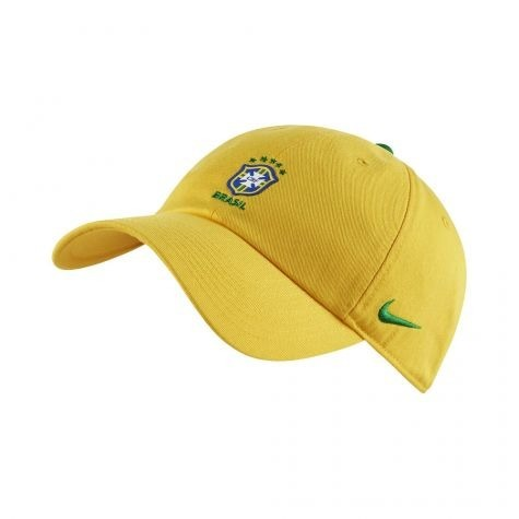 Boné Nike Seleção Brasileira H86 2018 Amarelo - Original - R  101 eba9ef7bb3e