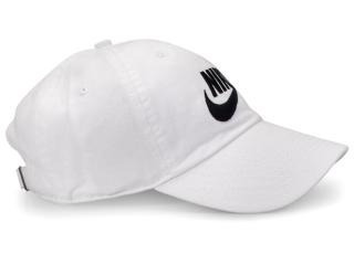 80f7ef7f36c07 Boné Nike Sportswear Futura Washed H86- Branco - Neb s - R  89